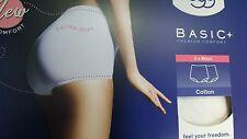 Sloggi Basic Maxi Brief 2pk White UK: Size 20 B.N.I.B Ladies
