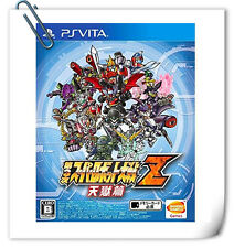 PSV Dai-3-Ji Super Robot Taisen Z Tengoku-hen VITA Bandai Namco Strategy Games