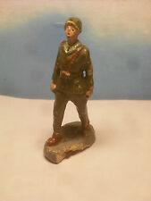 Soldatino Toy soldier Rovello Fante Italiano Pasta cm 8