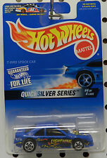 #4 FORD LIGHTNING STOCK CAR TBIRD THUNDERBIRD 1997 QUICKSILVER SERIES HOT WHEELS