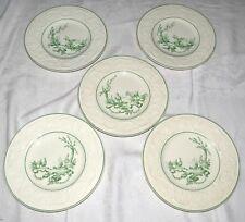 "Wedgwood Patrician AM8388 FIVE 8.3/8"" Salad Plates Ducks Chickens Birds Goats"