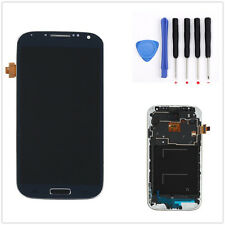 LCD Display Touch Screen Vetro Schermo Frame Per Samsung Galaxy S4 IV i9505