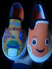 Team Umizoomi fan art custom hand painted shoes