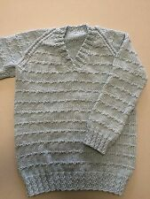 hand knitted jumper size 5-6