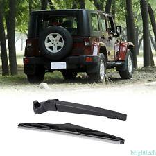 Rear Window Windscreen Wiper Arm &Blade Complete Set For Jeep Wrangler 2008-2017