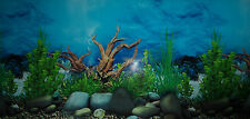 "Aquarium Fish Tank Double Sided Background 12"" (30cm) Tall"