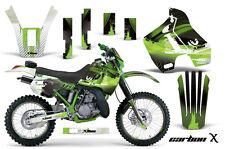 Kawasaki KDX200 Graphic Kit AMR Racing # Plates Decal Sticker Part 89-94 KDX CX
