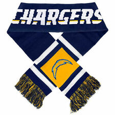 "San Diego Chargers Knit Winter Neck Scarf NEW 65"" 2012 Team Stripe!"
