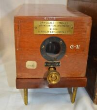 Vintage Drysdale-Tinsley Vibration Galvanometer No. 2416
