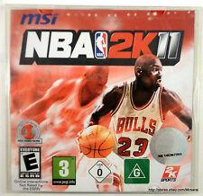 NBA 2K11 National Basketball League for PC XP/VISTA/7 Brand NEW