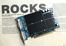 Nvidia GeForce 6600 : 256 MB : PCI-E ( 2x DVI ) : Apple PowerMac G5 (late 2005)