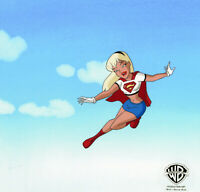 WB-Superman The Animated Series Original Cel- Supergirl-Little Girl Lost Pt 2