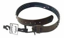 Motorhead Studded Brown Leather Belt New Official Band Merch