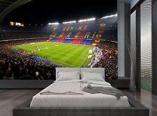 Soccer Barca Stadium Lights Football Wall Mural Photo Wallpaper GIANT WALL DECOR