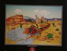 Affiche Offset Vil Coyote Le train Démons et Merveilles