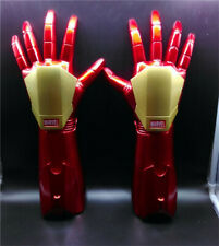 Iron Man 1/1 Armor Laser Arm Left Hand Right Hand LED Light Gloves Cosplay Prop