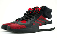 Adidas Marquee Boost High Team Basketball Shoes Mens Size 10.5 Red Black G27735