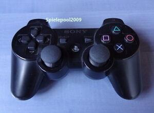 1 original Sony PS3 Dualshock 3 wireless Controller schwarz m. Vibration DEUTSCH