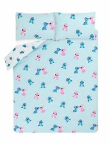 Disney Stitch & Angel Single or Double Cover Sets