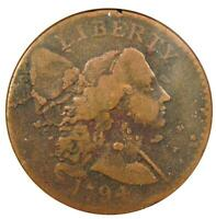 1794 Liberty Cap Large Cent 1C Coin - Certified ANACS AG Details - Rare Coin!
