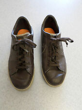 "Nike ""Sweet Classic"" brown leather skateboard shoes Men's 10.5"