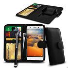 Clip PU cuir portefeuille étui housse & Stylo Pour Samsung Galaxy Note 3 Neo