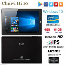 "4Go+64Go 10.1"" CHUWI Hi10 Win10 +Android 5.1 Z8350 Tablette PC 2 in 1 Ultrabook"