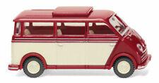 Wiking 033405 - 1/87 DKW Schnelllaster Bus - rubinrot/elfenbein - Neu