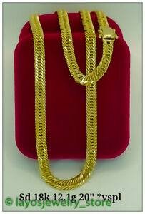 """New, Real AU70, Elegant, Everyday Affordable Style, Men's Fine Jewelry 20"""" Chain"""