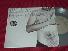 IV Thieves ‎– The Day Is A Downer E.P.  EX+  Grey vinyl   7""