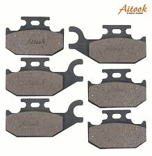Front and Rear Break Pads CAN AM BOMBARDIER DS650 DS 650 2000-2007