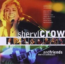 Sheryl Crow and Friends: Live in Central Park by Sheryl Crow CD 1999 A&M FBC15