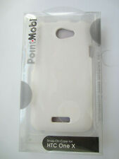 HTC One X  POINTMOBL SNAP ON CASE  COLOR WHITE **NEW **           ITEM  19 # 653