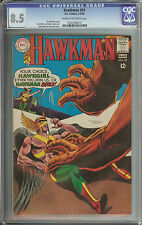 HAWKMAN #24 CGC 8.5 CR/OW PAGES  // DICK DILLIN & JACK ABEL COVER