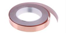 30 mm x 1 Meter selbstklebend Kupferband Kupferfolie EMI 3 cm Schnecken abwehr