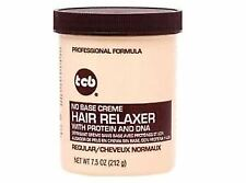 TCB NO BASE CREME HAIR RELAXER WITH PROTEIN AND DNA /REGULAR 7.5 OZ