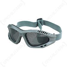 Occhiali Mesh Grigio-Camouflage Tattico Militare COMBAT Airsoft Occhiali di sicurezza