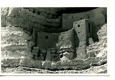 Montezuma Castle-Arizona Indian Ruins-RPPC-1956 Vintage Real Photo Postcard