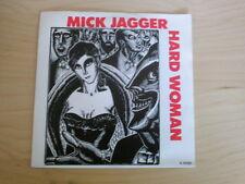 MICK JAGGER 7 inch Single HARD WOMAN (1985)    °1c