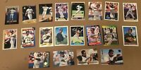 BARRY BONDS 20 CARD LOT LEAF PINNACLE FLEER TOPPS SCORE SELECT BOWMAN GIANTS