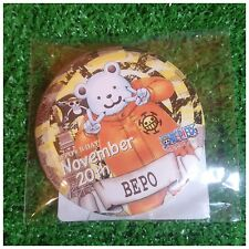 Tokyo One Piece Tower Limited Birthday Can Badge BEPO -November 20th-