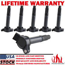 6 Pack Ignition Coils For Toyota Camry Rav4 Avalon Lexus RX350 ES350 3.5L UF487