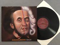 L081 Mendelssohn Bach Violin Concertos Ristenpart Rheinmetall 8063 Stereo