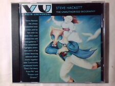 STEVE HACKETT The unauthorised biography cd GENESIS QUEEN