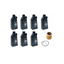 BMW Synthetic 5w30 (7) Genuine Motor Oil + Engine Oil Filter Mahle 07510017866
