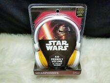 Disney Star Wars Kid Friendly Volume Headphones SW-V126E7.EX (NIP)