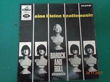 "Vintage 1965 7"" EP Single Eine Kleine Beatlemusic Barock and Roll Ensemble VGC"