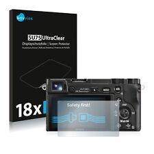 18x Savvies Films protection Ecran pour Sony Alpha 6000 Protecteur