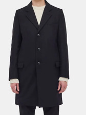 * Gloverall Mens Lined Chesterfield Coat Navy Over Coat Size 46 *REF173