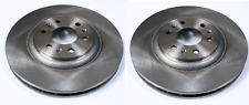 2 X BRAKE DISCS FRONT RIGHT + LEFT CADILLAC SRX 2004-2009 NEW
